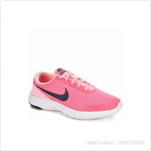 NIKE Flex Exp Girl's Grade School Sneakers; 5Y